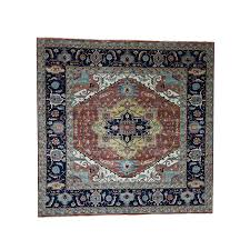 10 x10 1 antiqued heriz re creation pure wool hand knotted