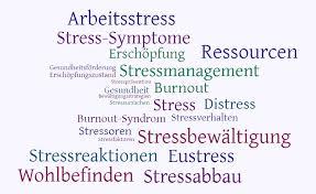 stress symptome frau