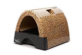 Designer Pet Products Litter Box Kitty A Go Go Designer Cat Litter Box Leopard Print