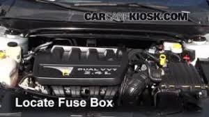 interior fuse box location 2011 2014 chrysler 200 2012 chrysler replace a fuse 2011 2014 chrysler 200