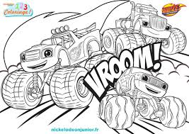 Blaze And The Monster Machines Coloring Pages Ant Killers Unique