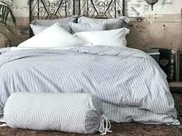 black and white striped duvet cover blue covers ticking stripe bedding sets doona co