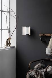 Dark grey wall, interior styling inspiration
