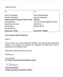 Resignation From The Company 12 Company Resignation Letters Samples Examples Templates