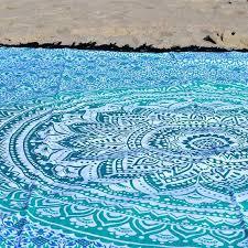 round beach rug polyester beach rugs australia