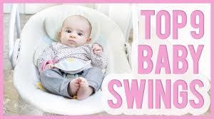 Best Baby Swing 2017 & 2017 – TOP 9 Swings For Babies - YouTube