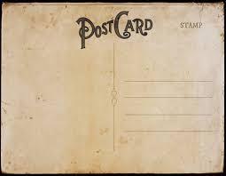 Vintage Postcards Templates Vintage Postcard Templates
