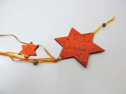 Holz Sternanhänger Anhänger Stern Christbaumschmuck 50 Cm Lang In Zimt Weihnachtsschmuck Türdekoration Zum Aufhängen