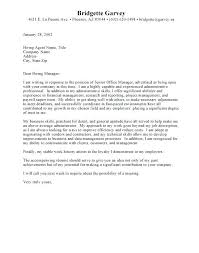 Assistant Cover Letter Administrative Assistant Cover Letter Samples