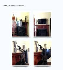 how to mount tv above fireplace cool solution for mounting above fireplace dynamic mounting tv above