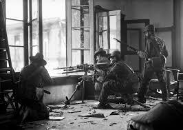 mexican iers a hotchkiss machine gun take cover in a ymca  mexican iers a hotchkiss machine gun take cover in a ymca building 1910 1914