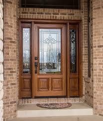 mahogany wood door vs fiberglass