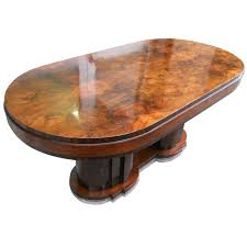 oval dining table art deco: italian dining tables art deco by premiato stabilimento di mobili busnell at stdibs