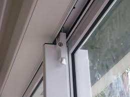 image of sliding door latch handle