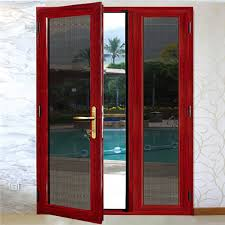 high quality china made decorative glass storm doors china aluminum door aluminum glass door