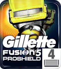 <b>Gillette</b> Сменные <b>Кассеты</b> Fusion5 <b>ProShield</b> для мужской бритвы ...