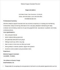 9+ Sample Medical Assistant Resume Templates