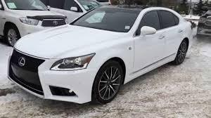 lexus 2015 white 4 door. Brilliant Door Pre Owned White 2013 Lexus LS 460 AWD F Sport Package Review  West  Edmonton Alberta YouTube On 2015 4 Door S
