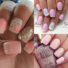 Latest winter glitter sparkling nail art designs for girls ...