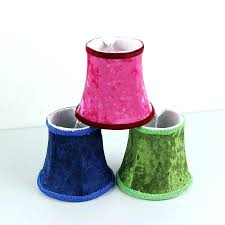 chandeliers shades for chandelier mini clip on lamp red green blue flannel cover shade shades for