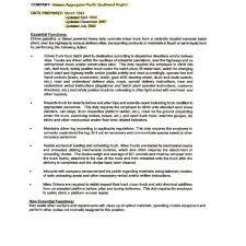 Warehouse Jobs Resume Sample Resumes For Job Description Resume