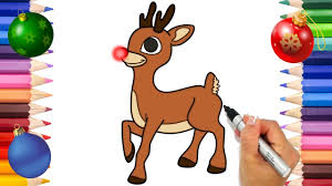 These printable coloring pages are also good for them not to be bored and to be artistic. Rudolph The Red Nose Reindeer Coloring Page Christmas Coloring Book Printable Coloring Page Youtube
