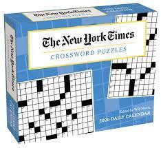 New York Times Crossword Desk Calendar - Calendars.com