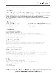 Server Bartender Resume Fascinating Server Bartender Resumes Kenicandlecomfortzone