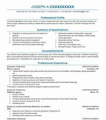 Electronic Technician Resume Sample Electronics Resumes