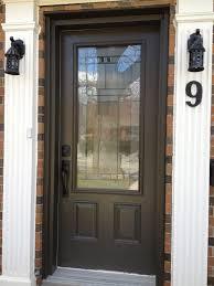 wood front door with gl ideas doors rustic solid
