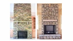 fascinating fireplace stone veneer and facades make the look for cover brick with popular trends