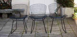harry bertoia wire chair for knoll international 1952 stuhl