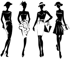 Fashion Girls Illustration Vector Set 03 Free Download