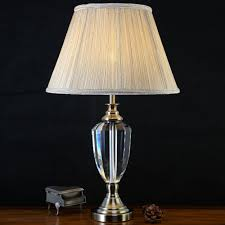 Table Lamp For Bedroom Popular Crystal Table Lamp Buy Cheap Crystal Table Lamp Lots From
