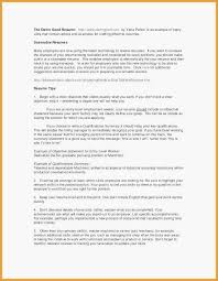 Job Resume Objective Examples New Resume Template Samples Nanny