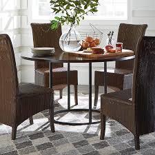 custom dining 54 wood table w round base