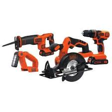 black and decker tools. 20-volt max lithium-ion cordless combo kit (4-tool) with black and decker tools u
