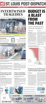 Newspaper St. Louis Post-Dispatch (USA). Newspapers in USA. Friday's  edition, March 17 of 2017. Kiosko.net