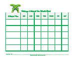 Superhero Behavior Charts Free Printable Behavior Charts