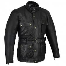 bikers gear classic vintage trail blazer ce1621 1 pu armour motorcycle waxed oiled age