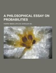 a philosophical essay on probabilities dover books  9781230305974 a philosophical essay on probabilities