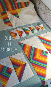Handmade Quilts, Custom Made Quilts, Rainbow Star Quilt | Quilts ... & Handmade Quilts, Custom Made Quilts, Rainbow Star Quilt Adamdwight.com