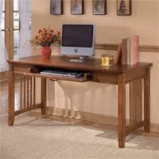 office desk computer. Ashley Furniture Cross Island Large Office Desk In Medium Brown Computer