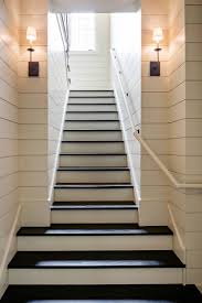basement stairs ideas. BASEMENT STAIRS. What Is Shiplap Cladding? 21 Ideas To Use It In Your Home - Sebring Design Basement Stairs