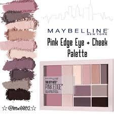 pink edge eye cheek palette firm