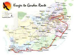 self drive kruger to garden route south