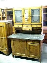 kitchen cabinet antique cabinets for full image value hoosier