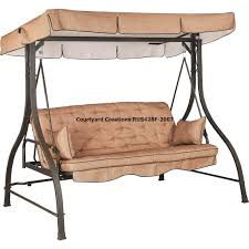 patio ideas graceful replacement patio swing canopy and outdoor swing with canopy replacement patio swing canopy