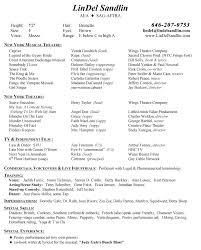 Theatre Resume Unique Musical Theatre Resume Examples New Swarnimabharathorg