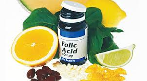 Kết quả hình ảnh cho bổ sung acid folic cho bà bầu